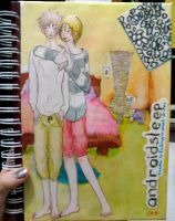 Notebook Watercolor Front by chiberia