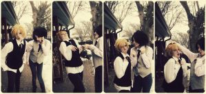 We're so mature. :'D by mindless-cosplay