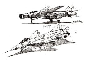 FG-7 interceptor fighter by azgcz