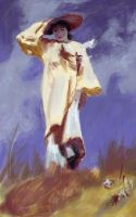 Sargent Study1 by putridCheese
