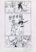 Naruto vs. Link Doujinshi p.10 by FreezingStudio