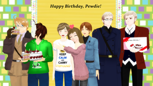 Pewdiepie and Sweden - Happy Birthday, Pewdie! by PikaBlaze
