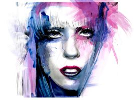 Lady Gaga by davepinsker