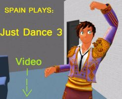 Spain Plays Just Dance 3 - VIDEO! by CaptainAki13