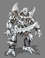 Warforged Barbarian by Reh0