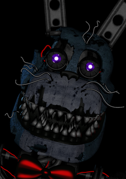 Nightmare Bonnie V.2 | WIP by TheEndCrafter