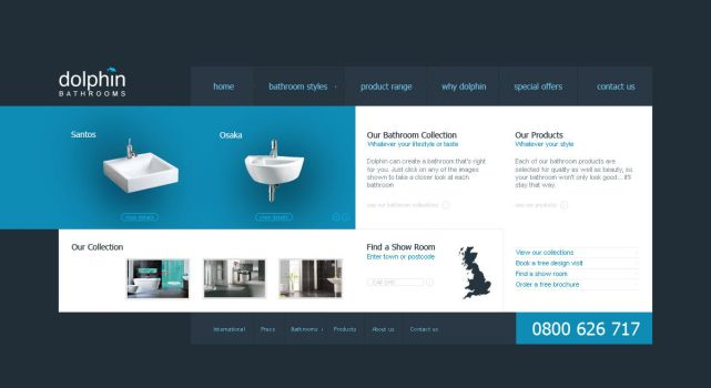 Dolphin Bathrooms by NorthernDesign