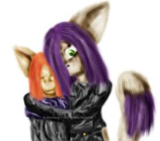 Kat and Fennic by Fennic