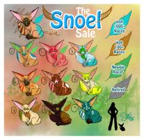 NEW BREED: RACING SNOEL SALE by shilohs