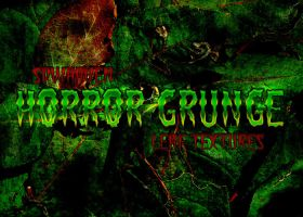 Grunge Horror Leaf Textures by sdwhaven