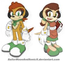 Thyme and Rosemary Designs by SailorMoonAndSonicX