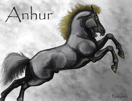 Anhur leaping by pookyhorse