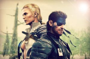 Metal Gear Solid: Snake Eater Wallpaper by lovehatesmisery