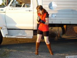 "Claire Redfield ""Is it safe?"" by MajesticStock"