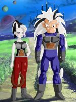 An Empire Reborn: The Twins on New Vegeta by ncfwhitetigress