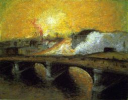 impressionism study-bridge by tacit-dweller