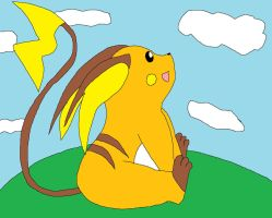 Raichu request by Emily-Young