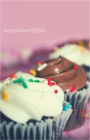 Mini Cup-cakes by AngelicDevilxxuae