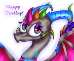 Happy Birthday cynderandspyrorocks by PlagueDogs123