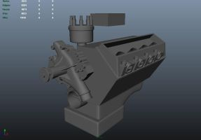 460_Ford Engine WIP by xXMawZXx
