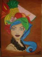 like carmen miranda by kafryne