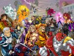 Diablo2003 X-men AOA coloring by PIXEL-Of-DOOM