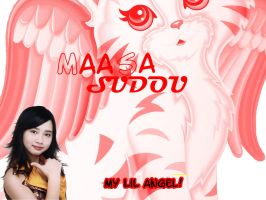 Maasa Sudou Angel Wallie by Kiokiou