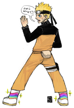 Naruto wear moonboots by emlan