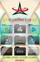 Propellerhead  Icons by evolution99