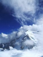 Mont Blanc by sloughmo