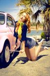 Pin up girls 3-Auto service by mariannaphotography