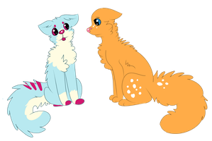 Sherbert Kitties by Schuffles