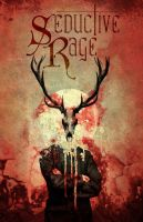 Seductive Rage Poster Deer Skull by manfishinc