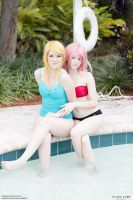 Haruko and Samus Swim 02 by thirdstop