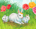Rabbits by Susiron