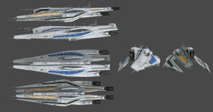 Comparison Alliance Cruiser V/S Cerberus Cruiser by nach77