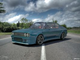 Audi 100 Coupe s tuned by cipriany