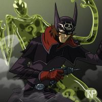 Space Pirate Batman by tnperkins