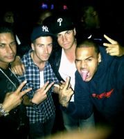 Chris Brown + Jersey Shore Men by englishxmuffin