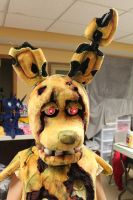 Springtrap cosplay by WhiteDove-Creations
