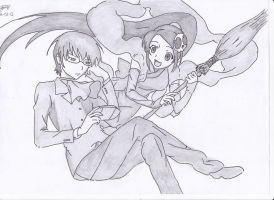 Keima And Elsie by AMRRCReviews