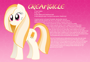 Introducing, Creamsicle! by tashiepie