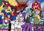 Transformers The Movie 1986- Art Print by Demonology7789