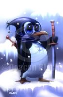 ninja penquin by deacon-black