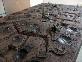 Trench Warfare Table by un-forged