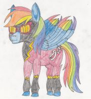 Shadowbolt Rainbow Dash by ThePegasusEffect