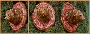 Lion Mini Bust by ApostacyArt