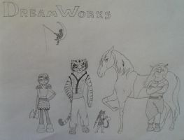 DreamWorks Girls by LaDeary