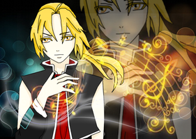 Edward Elric VOCALOID style by EvanAkita