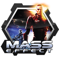 Mass Effect Honeycomb Icon by RazzGraves
